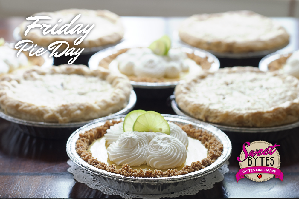 """6"""" Friday Pie Day Pies"""