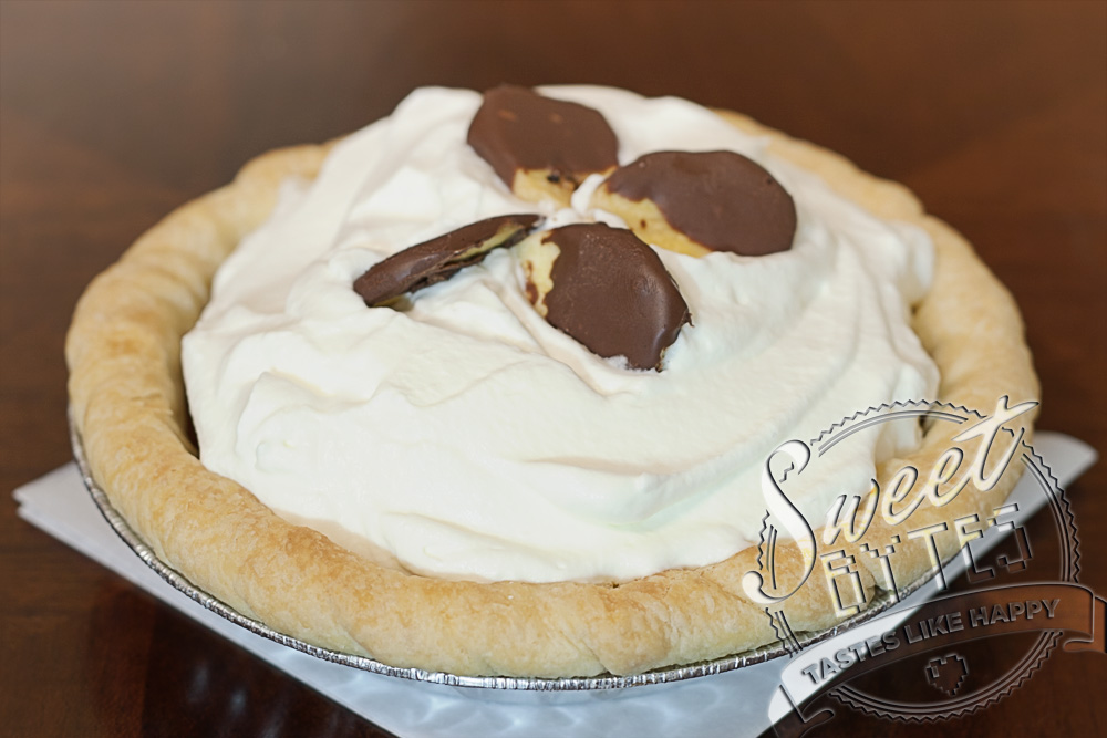 chocolate banana cream pie $ 15 chocolate banana cream pie is pretty ...