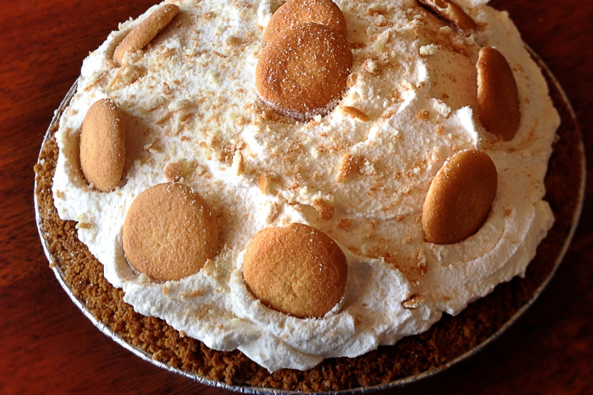 banana pudding pie $ 15 $ 18 banana pudding pie is just what