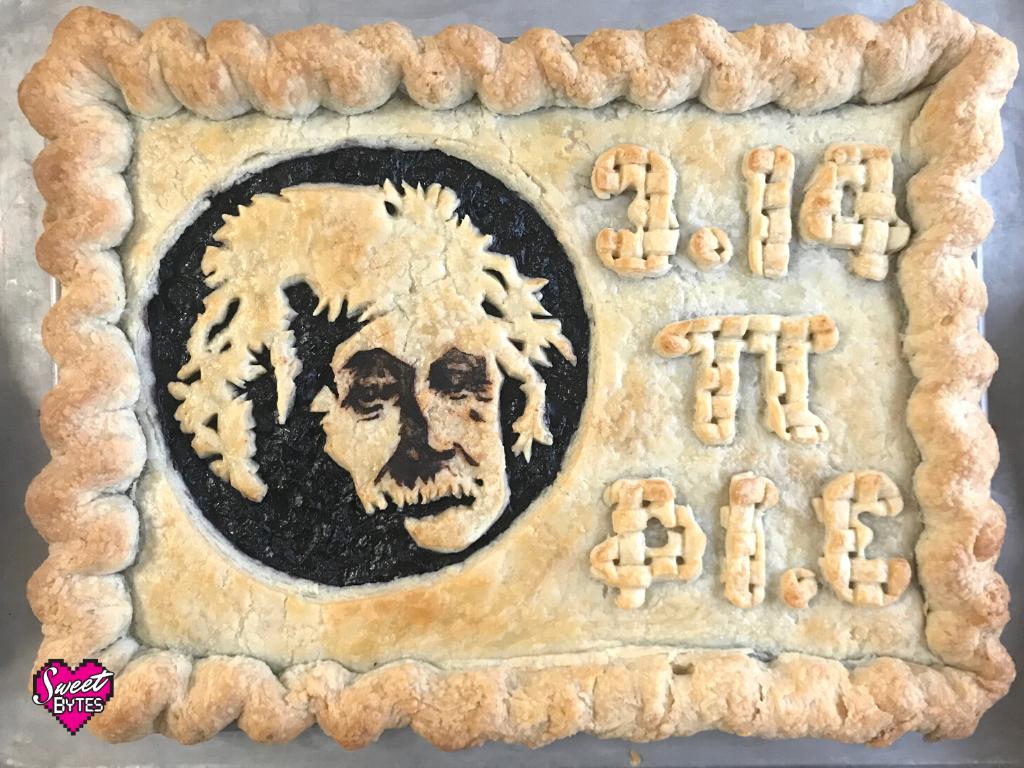 Baked Einstein Pi Day Pie